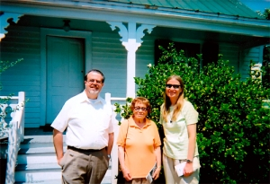 Linda D, Bill E, and Libby